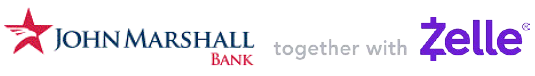 John Marshall Bank together with Zelle