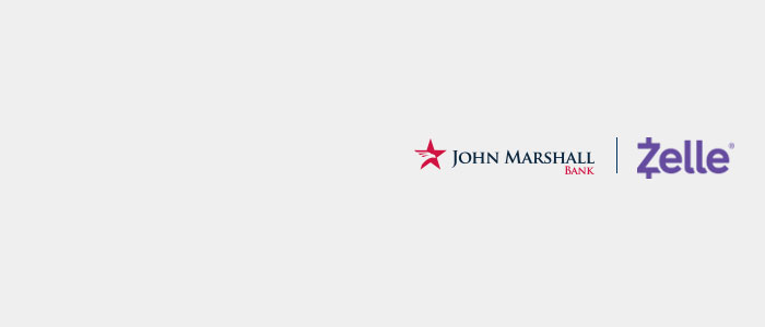 John Marshall Bank has partnered with Zelle