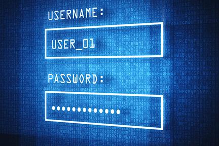 Secure Login Screen