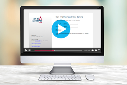 JMB Business Online Banking Demo