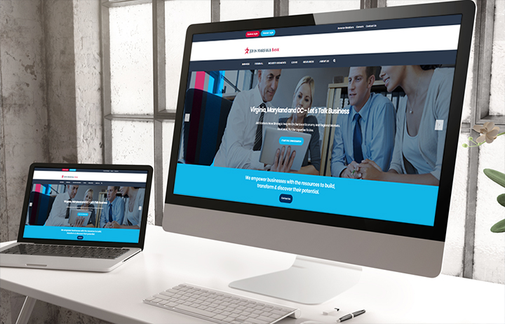 New John Marshall Bank Website screens