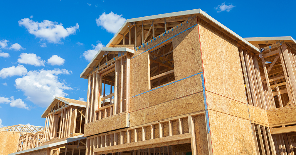 new home under construction in commercial real estate lending