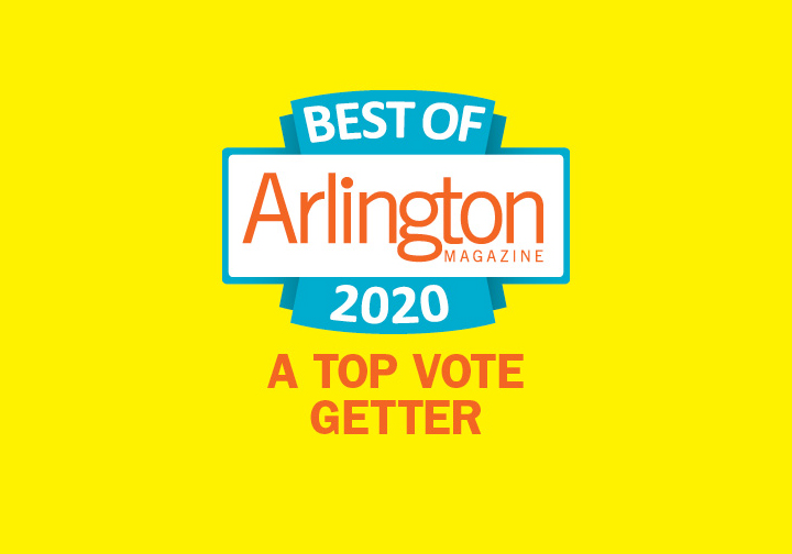 Best of Arlington Magazine 2020 A Top Vote Getter