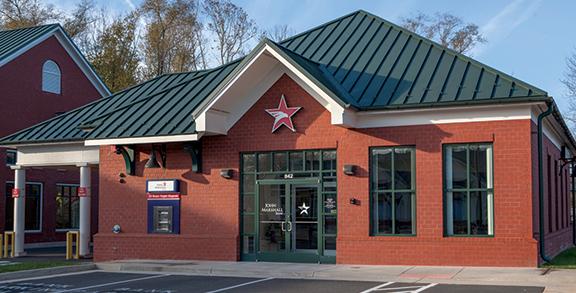 Loudoun County Leesburg John Marshall Bank Branch
