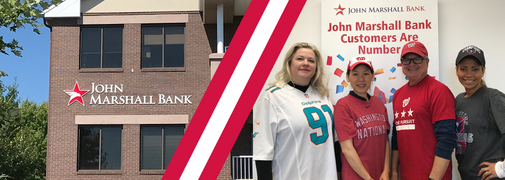 Prince William County's Community Bank with John Marshall Bank Staff