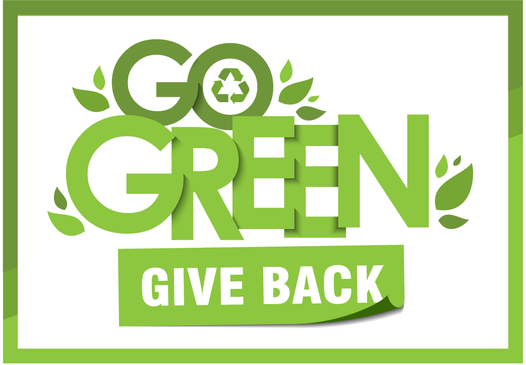 Go green and give back campaign
