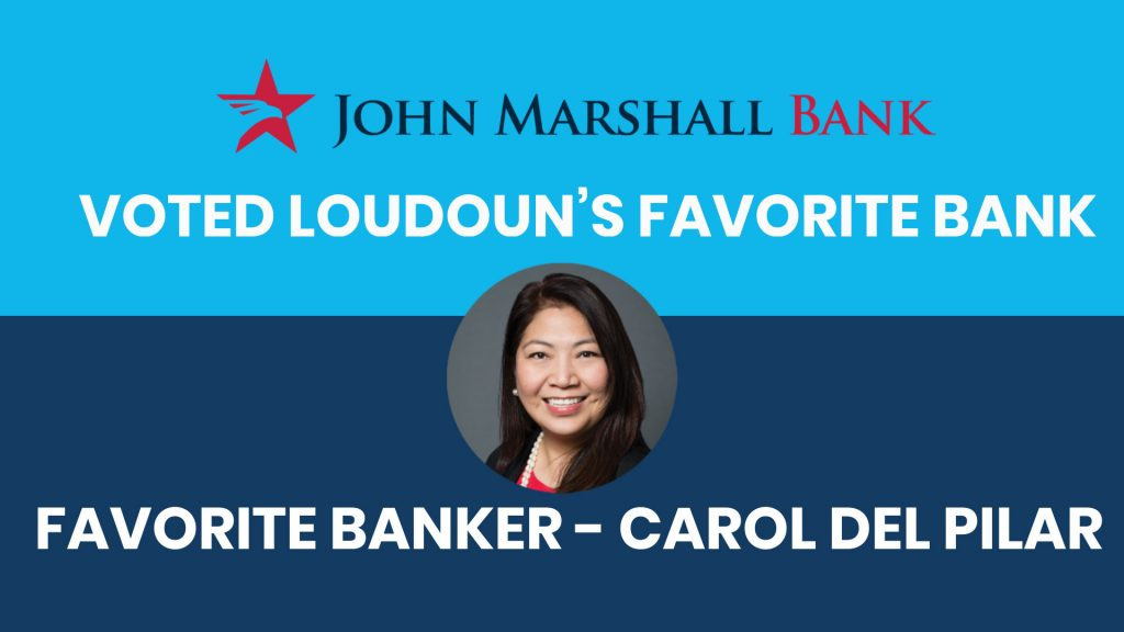 JMB Voted Loudoun's Favorite Bank and Banker