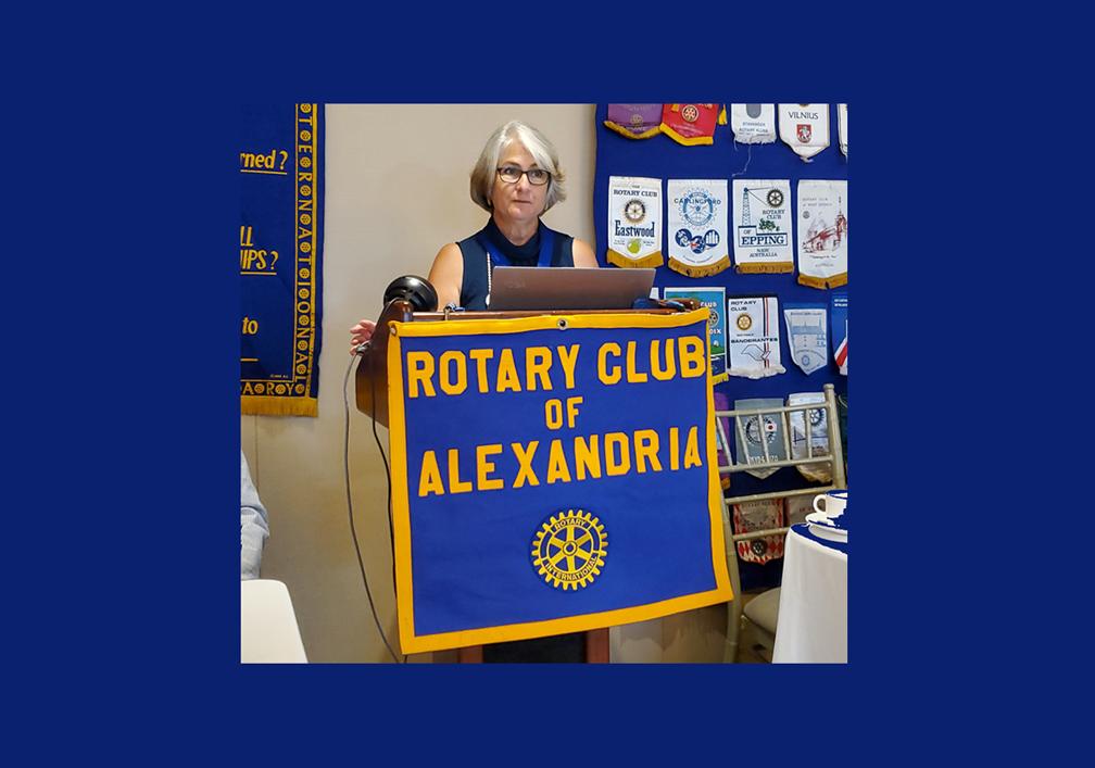 Pam DeCandio Elected President of Rotary Club of Alexandria